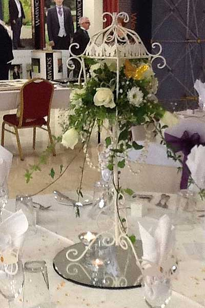Table Centres & Birdcages