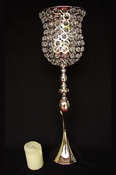 Large Crystal Goblet