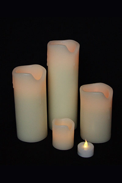 led-wax-candles
