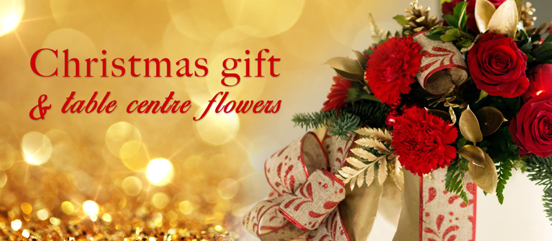 Floral Displays And Centre Pieces Make The Perfect Gift This Christmas