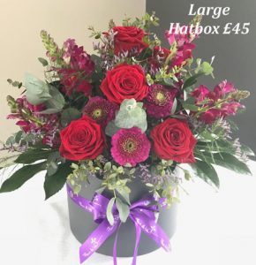 mothers day large hatbox